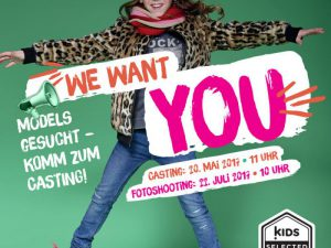 Fotoshooting KIDS SELECTED | Das Casting